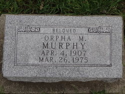 Orpha May <I>Duttenhaver</I> Murphy