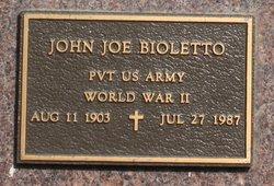 John Joe Bioletto