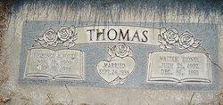 Florence A <I>Foutz</I> Thomas