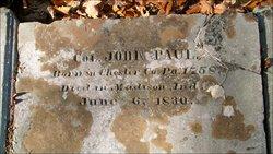 Col John Paul