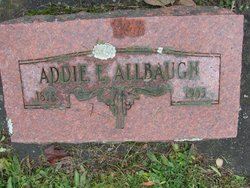 Addie E <I>Smith</I> Allbaugh