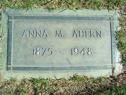 Anna <I>Waller</I> Ahern