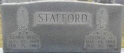 Clara Bell <I>Hames</I> Stafford
