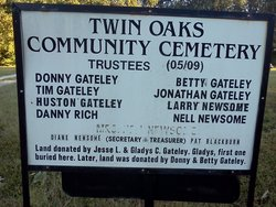 Twin Oaks Community Cemetery