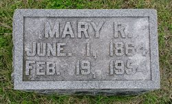 Mary R. <I>Sargent</I> French