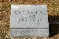 Mary <I>Bradford</I> Marsh