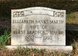 Elizabeth <I>Banks</I> Marsh