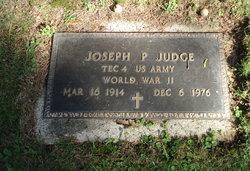 Joseph P Judge