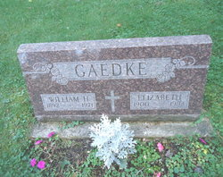 Elizabeth <I>Fenner</I> Gaedke