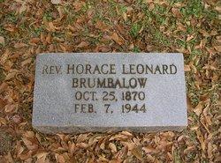 Rev Horace Leonard Brumbalow