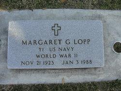 Margaret G Lopp