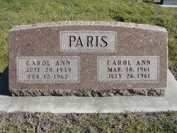Carol Ann Paris