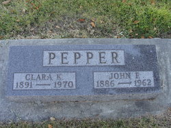 John F Pepper