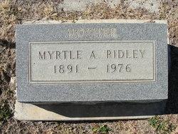 Myrtle A Ridley