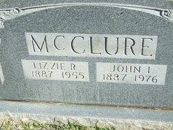 "Elizabeth L. ""Lizzie"" <I>Rothell</I> McClure"
