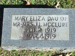 Mary Eliza McClure