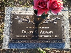 Doris <I>Stephenson</I> Adams
