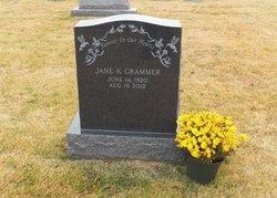 Jane <I>Krom</I> Grammer