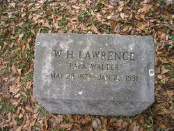 "Walter Harvey ""Papa Walter"" Lawrence"