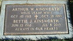 Arthur W Ainsworth