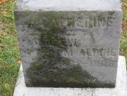 Catherine <I>McTavish</I> McAlpine