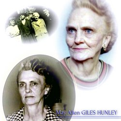 May Allen <I>Giles</I> Hunley
