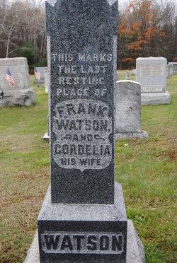 Cordelia <I>Johnson</I> Watson