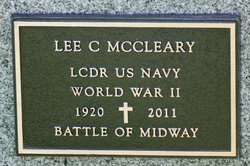 LCDR Lee Coleman McCleary