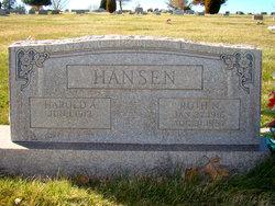 Harold A Hansen