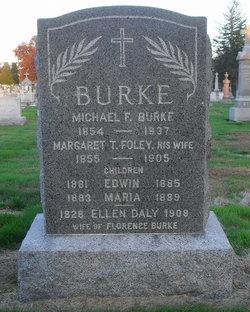 Margaret T <I>Foley</I> Burke