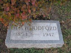 Margaret A <I>Hamilton</I> Woodford
