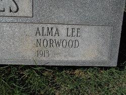 Alma Lee <I>Norwood</I> Jones