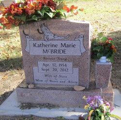 Katherine Marie <I>Thompson</I> McBride