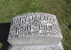 Mary Jane <I>Johnston</I> Scott