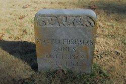 Martha D. <I>Freeman</I> Jones