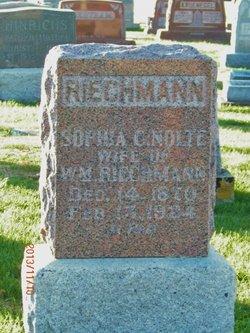 Sophia C <I>Nolte</I> Riechmann