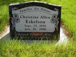 Christine <I>Allen Eskelson</I> Bower