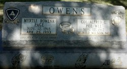 Myrtle Rowena <I>Shinn</I> Owens