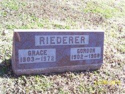 Mrs Grace Riederer