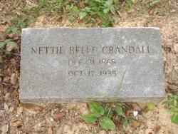 Nettie Belle <I>Wrigley</I> Crandall