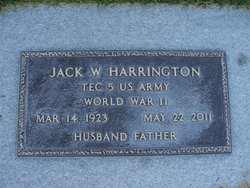 Jack William Harrington