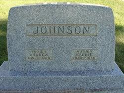 Carrie <I>Olsen</I> Johnson