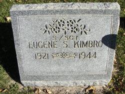 """Eugene Sine """"Gene"""" Kimbro"""