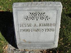 Jesse A Kimbro