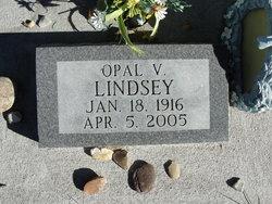 Opal Virginia <I>Kimbro</I> Lindsey