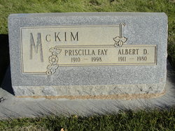 Priscilla Fay McKim