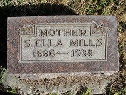 Sarah Ella <I>Campbell</I> Mills