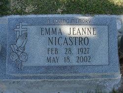 Emma Jean <I>Jeanne</I> NiCastro