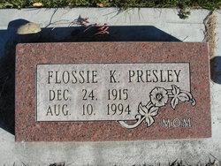 Flossie Kathyrine <I>Williams</I> Presley
