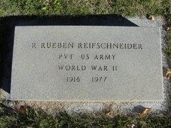 R Reuben Reifschneider